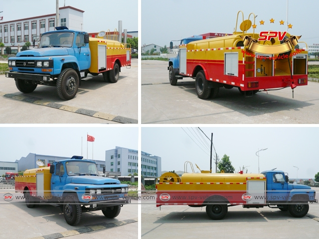 High Pressure Sewer Jetter Dongfeng