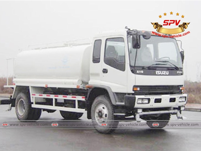 isuzu water bowser trucks from spv are in hot sale water tanks capacity upto 20 000 litres. Black Bedroom Furniture Sets. Home Design Ideas