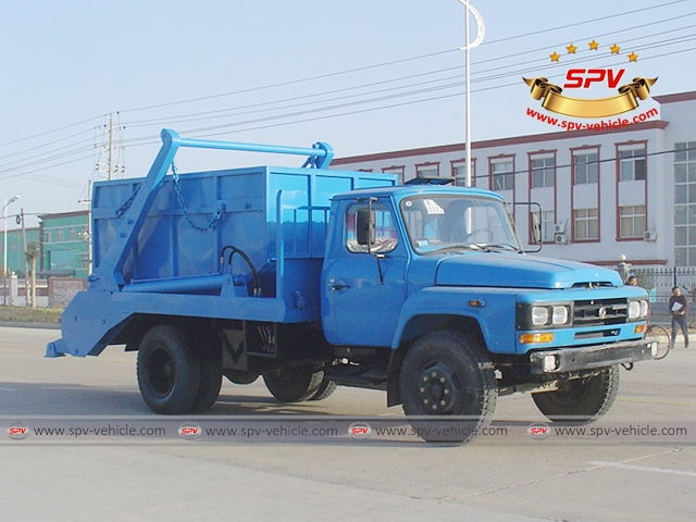 6 Ton Swing Arm Garbage Truck-Dongfeng-FS