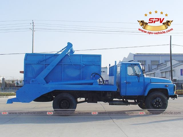 6 Ton Swing Arm Garbage Truck-Dongfeng-S
