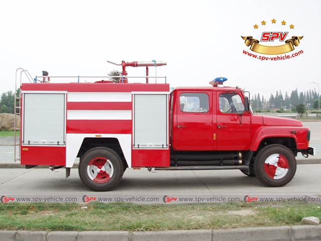 Side view of Fire Truck
