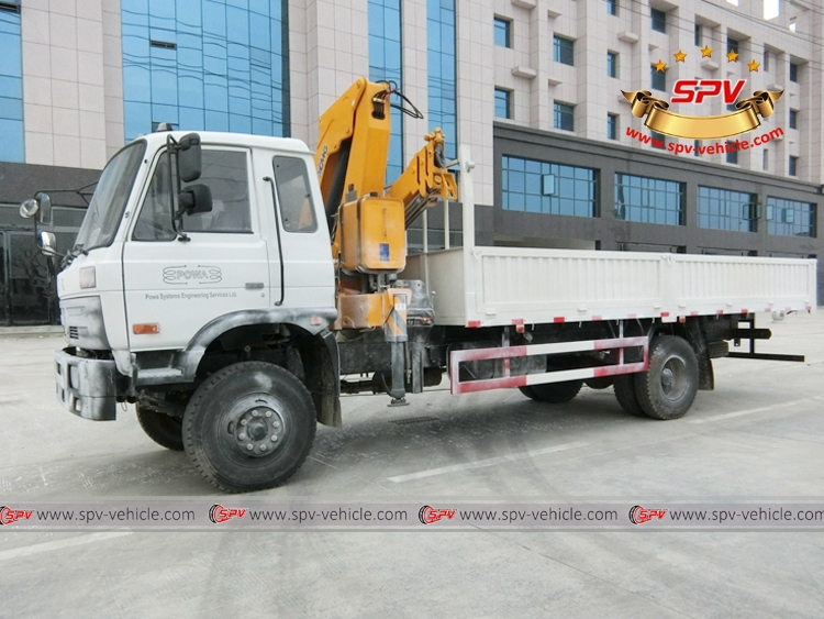 5 Ton Self loader truck Dongfeng, waxed picture 01
