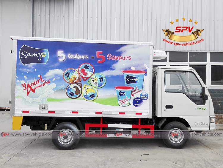 2 Tons Refrigerator Truck JAC - RS