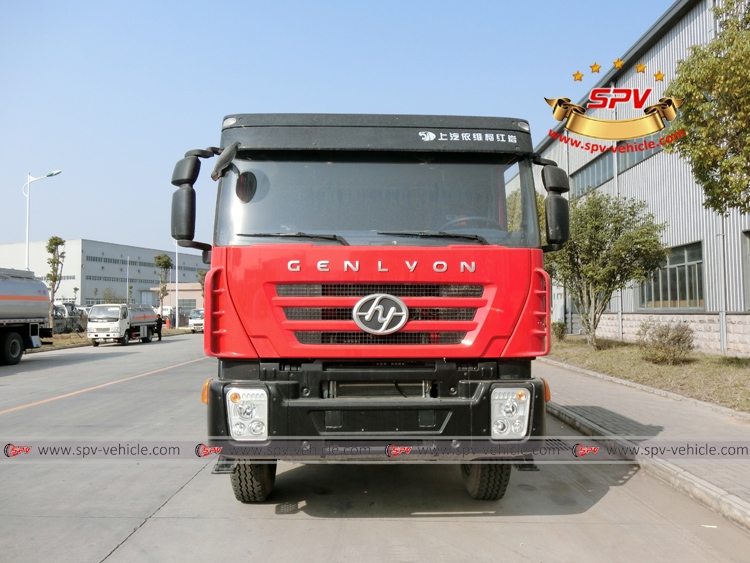 Water Bowser 20000 liters IVECO Red Front View