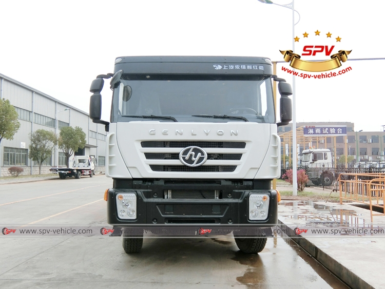 Front View: Water Bowser 20,000 liters IVECO White