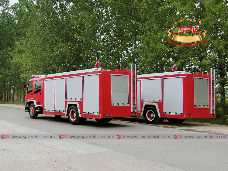 Fire Fighting Truck ISUZU FTR-LB