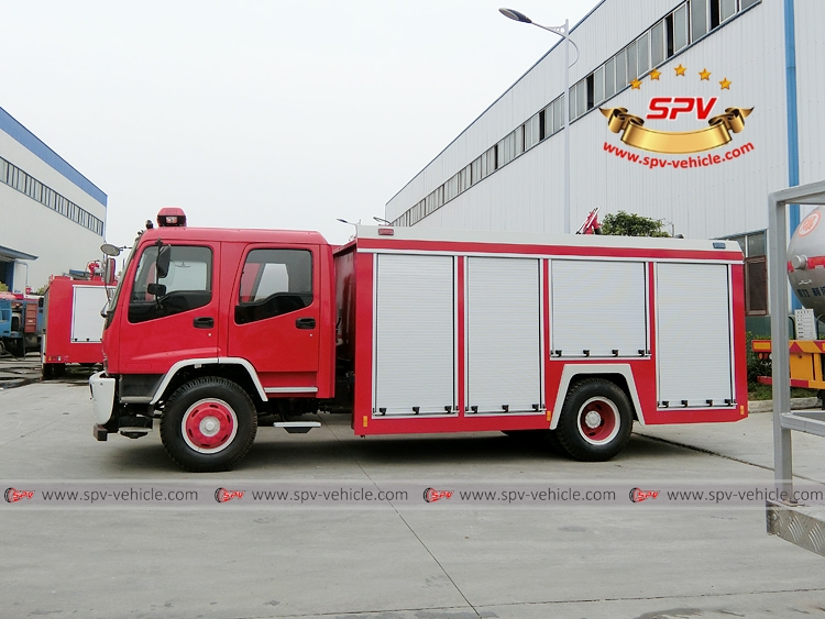 Fire Fighting Truck ISUZU FTR-LS