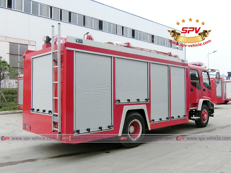 Fire Fighting Truck ISUZU FTR-RB