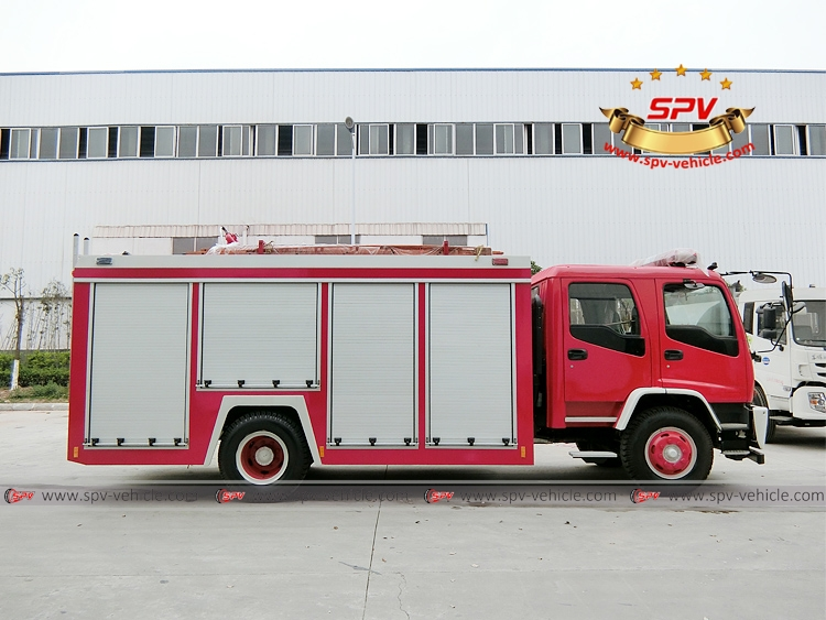 Fire Fighting Truck ISUZU FTR-RS