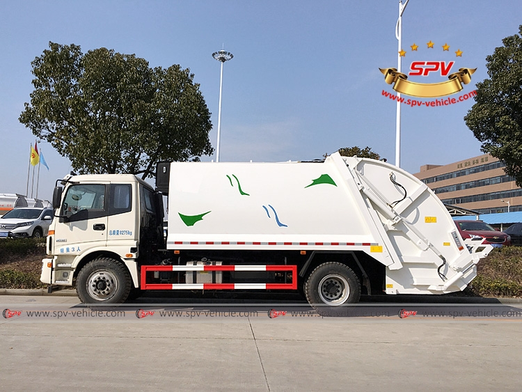 Waste Compactor Truck Foton-LS