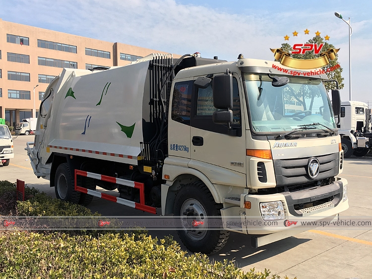 Waste Compactor Truck Foton-RF