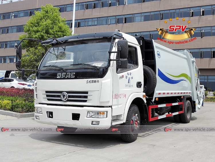 8 CBM Compactor Truck Dongfeng - LF