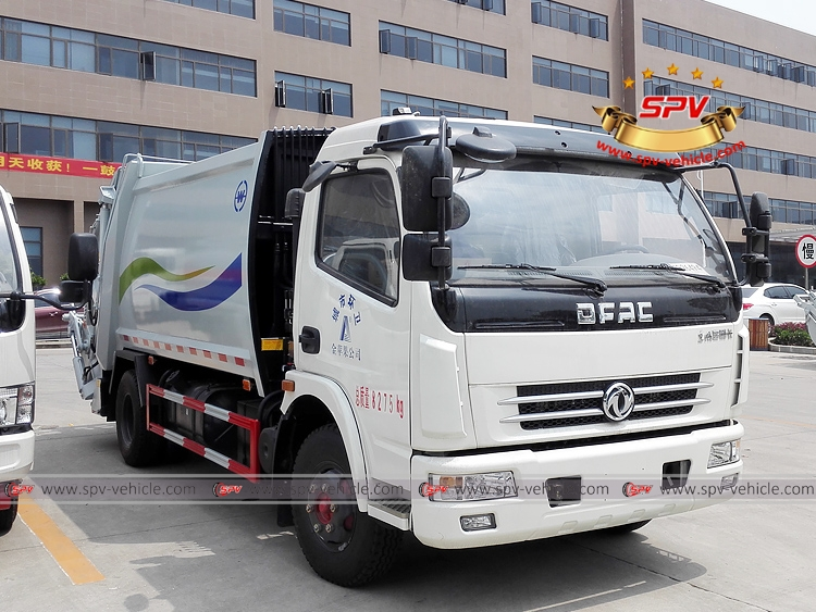 8 CBM Compactor Truck Dongfeng - RF
