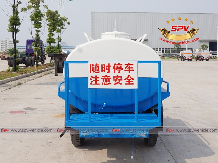 Motor Tricycle Water Cart Shifeng-B