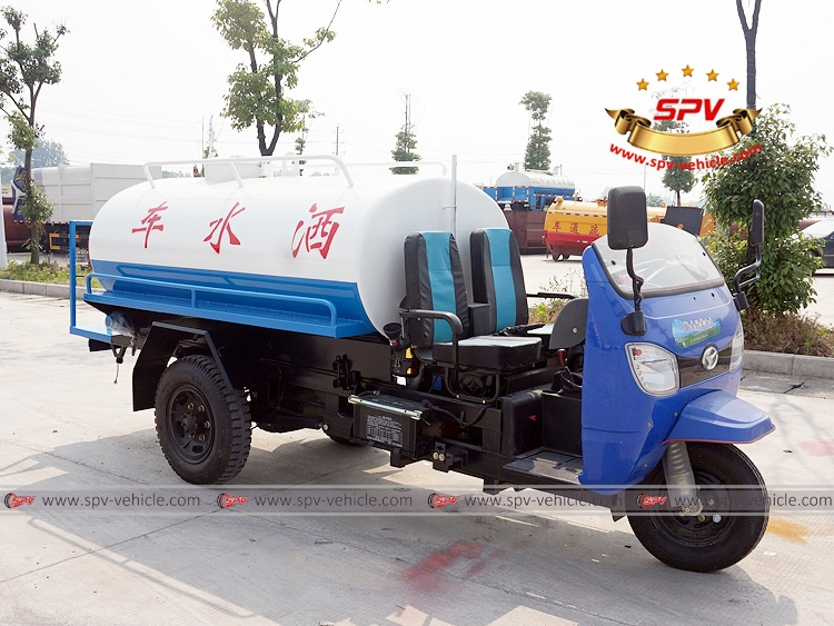 Motor Tricycle Water Cart Shifeng-RF