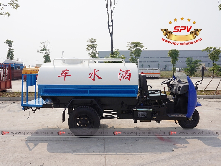 Motor Tricycle Water Cart Shifeng-RS