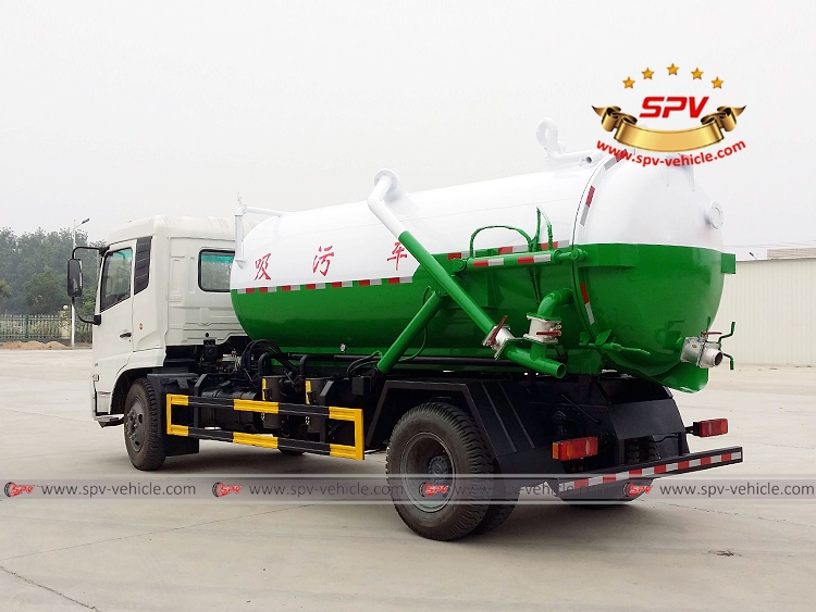 8,000 Litres Gully Emptier Truck Dongfeng-LB