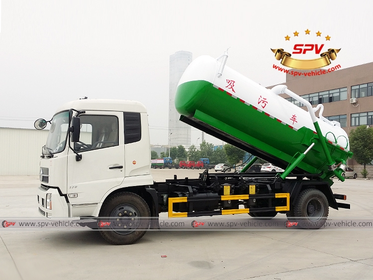 8,000 Litres Gully Emptier Truck Dongfeng-LF