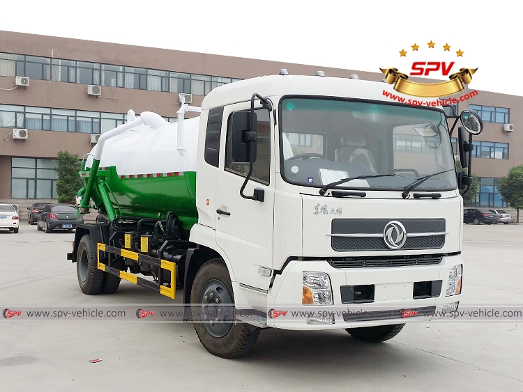 8,000 Litres Gully Emptier Truck Dongfeng-RF