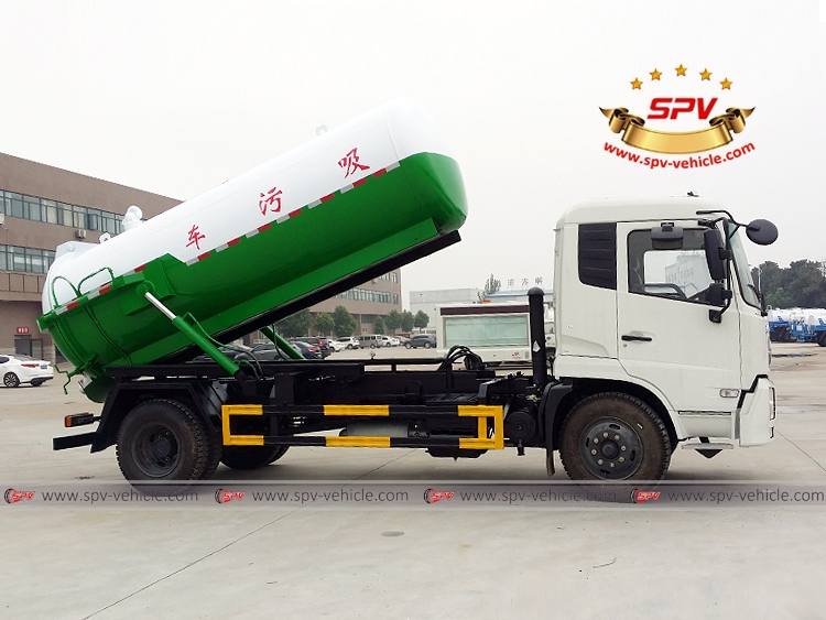 8,000 Litres Gully Emptier Truck Dongfeng-RS