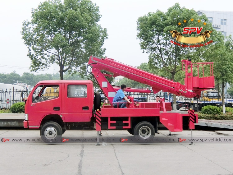 16M Telescopic Beam Lifter Dongfeng-LS