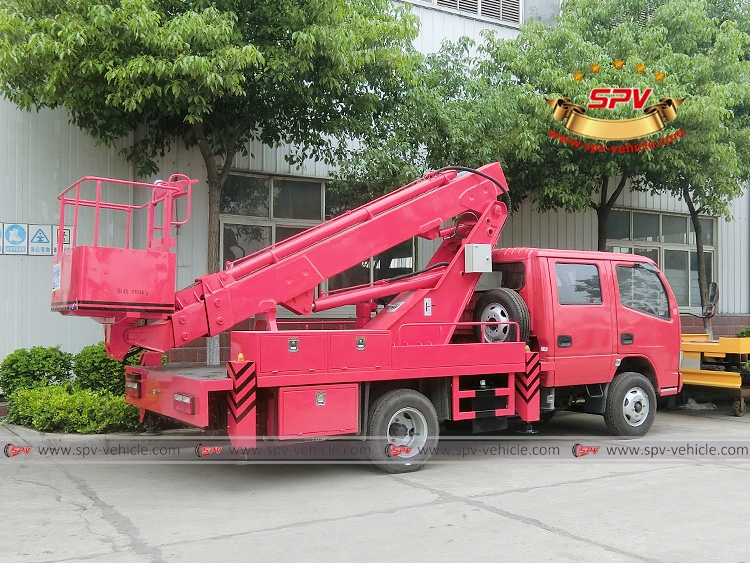 16M  Telescopic Beam Lifter Dongfeng-RB