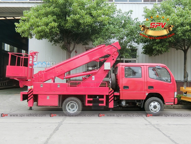 16M  Telescopic Beam Lifter Dongfeng-RS