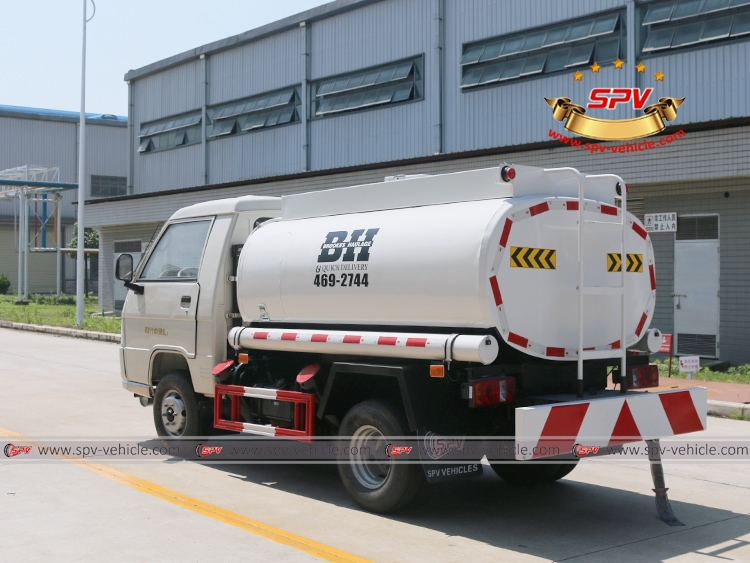Mini Fuel Tanker Forland 500 Gallons - LB