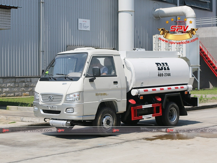 Mini Fuel Tanker Forland 500 Gallons - LF