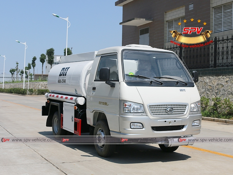 Mini Fuel Tanker Forland 500 Gallons - RF
