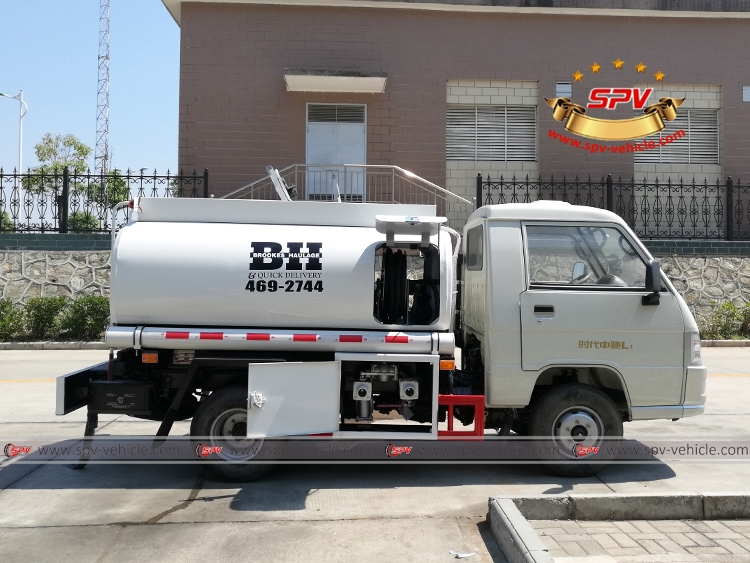 Mini Fuel Tanker Forland 500 Gallons - RS