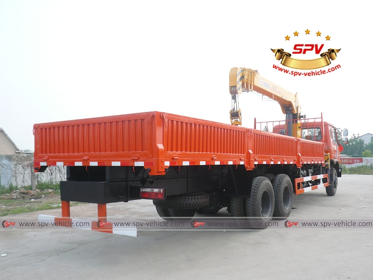 Boom Crane Truck Dongfeng - RB