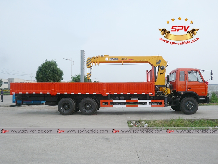 Boom Crane Truck Dongfeng - RS