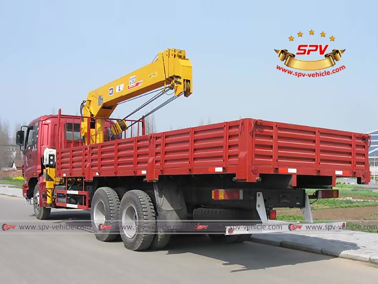 Telescopic Hydraulic Loader FOTON - LB - Red Color