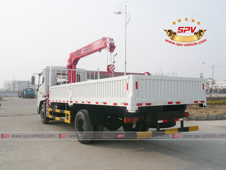 Truck Mounted Crane Dongfeng - LB