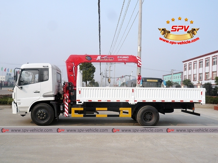 Truck Mounted Crane Dongfeng - LS