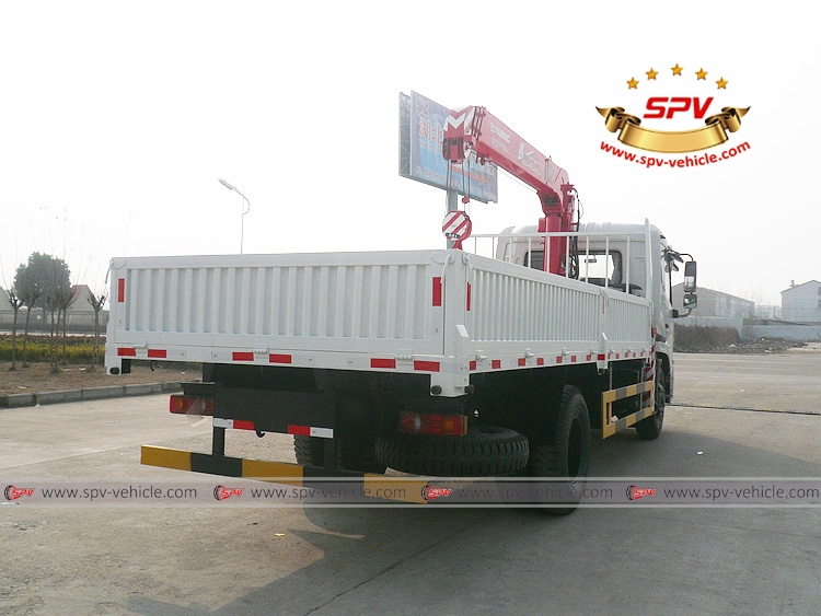 Truck Mounted Crane Dongfeng - RB