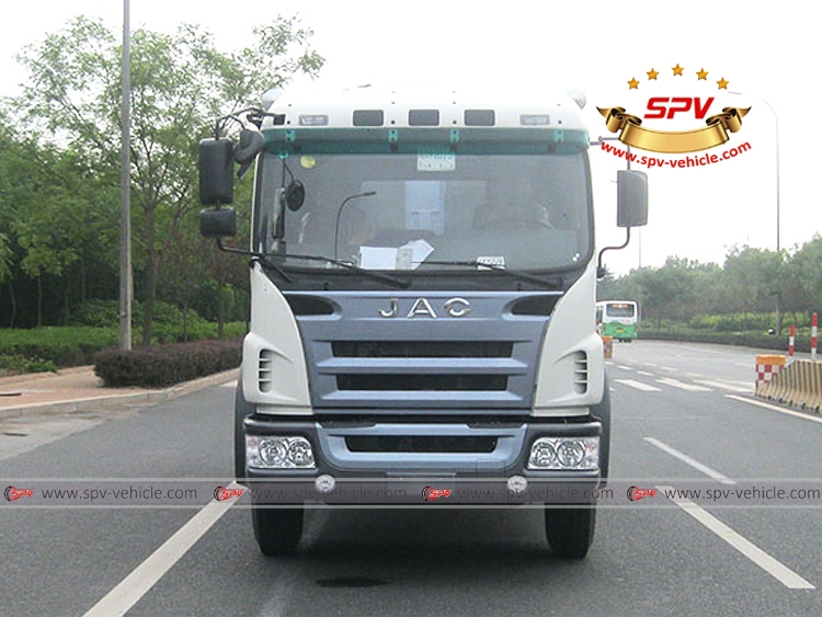 Compactor Garbage Truck JAC-F