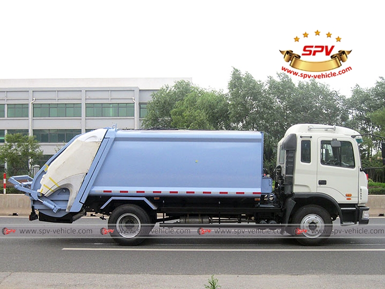 Compactor Garbage Truck JAC-RS