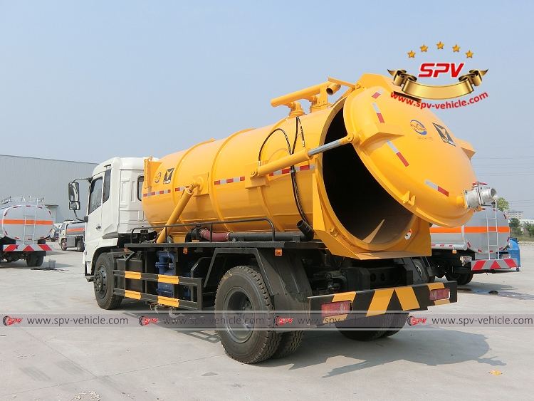 Gully Emptire Truck Dongfeng-LB