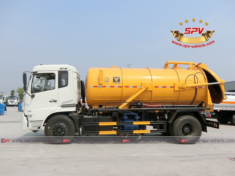 Gully Emptire Truck Dongfeng-LS