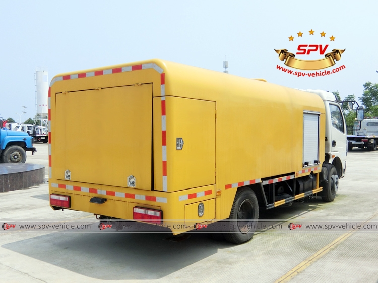 Sewer Jetting Vehicle Dongfeng - RB
