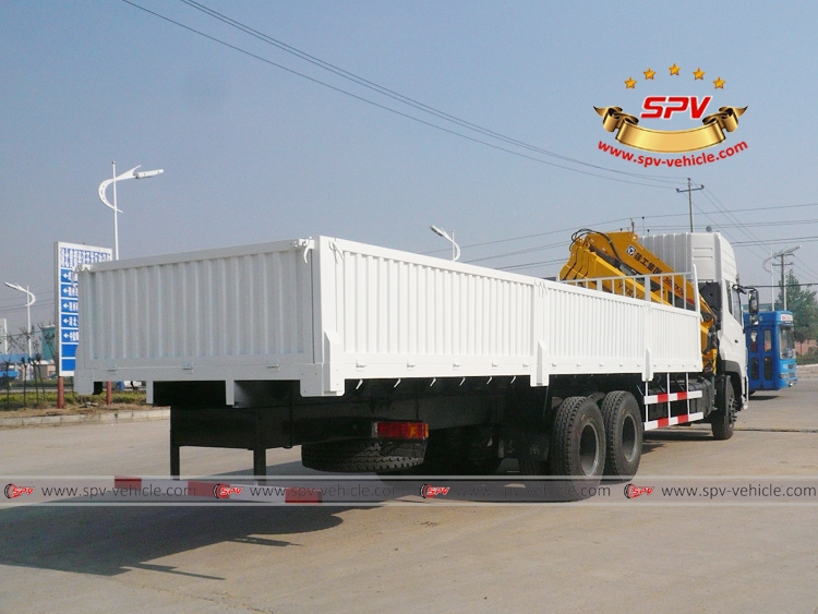 Articulated Crane Truck Dongfeng-RB