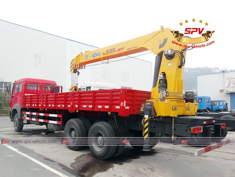 Truck Mounted Crane North Benz - LB