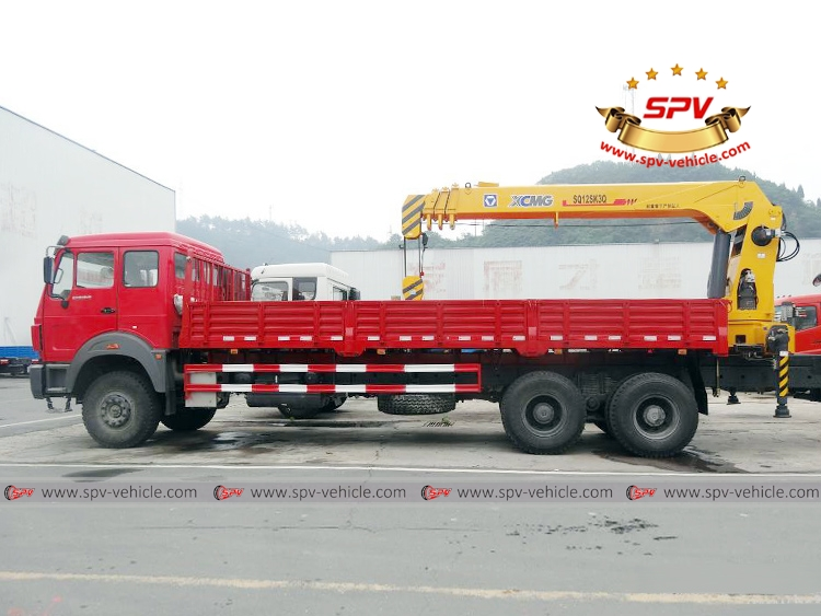 Truck Mounted Crane North Benz - LS