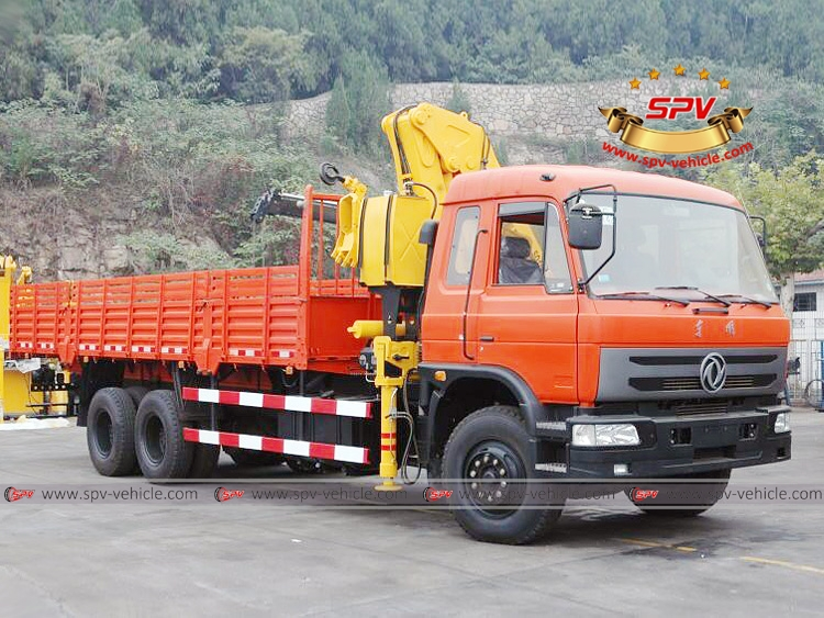 Truck Mounted Knuckle Crane Dongfeng - RF