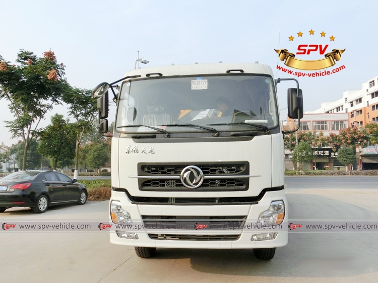 Knuckle Crane Truck Dongfeng - F