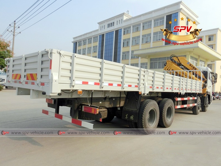 Knuckle Crane Truck Dongfeng - RB