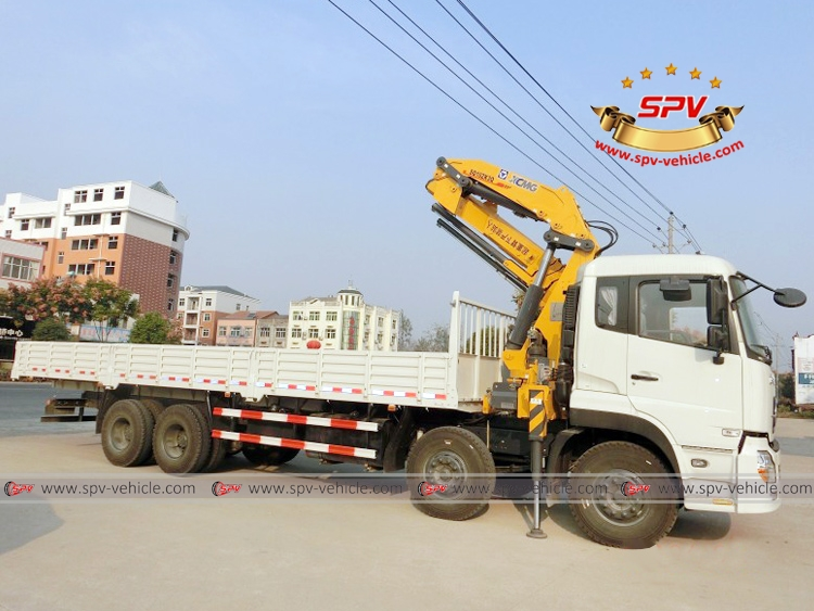 Knuckle Crane Truck Dongfeng - RF