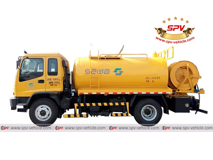 Water Jetting Truck ISUZU-S